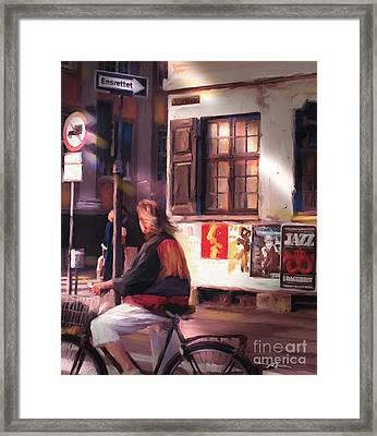 Copenhagen Denmark Framed Print by Bob Salo