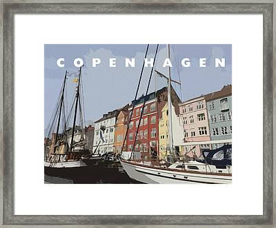 Copenhagen Memories Framed Print by Linda Woods