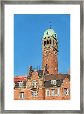 Copenhagen Old Building Framed Print by Antony McAulay