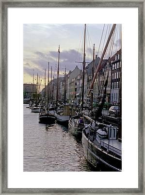 Copenhagen Quay Framed Print