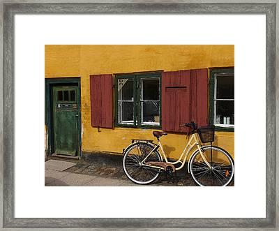 Copenhagen Still Life Framed Print by Sabine Meisel