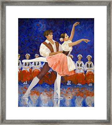 Coppelia Framed Print
