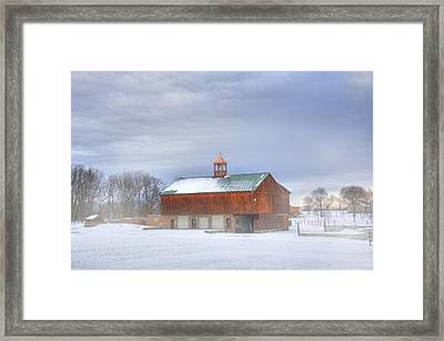 Framed Print featuring the digital art Copper Cupola by Sharon Batdorf