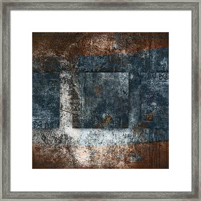 Copper Finish 1 Framed Print by Carol Leigh