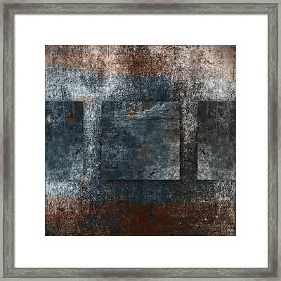 Copper Finish 3 Framed Print