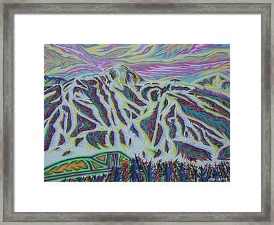 Copper Mountain Framed Print