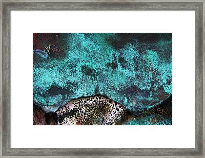 Copper Patina 2 Framed Print by Marcus Adkins