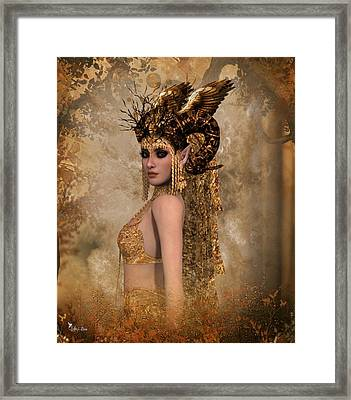 Copper Queen Framed Print