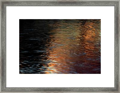 Framed Print featuring the photograph Copper Water by Kenneth Campbell