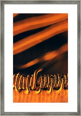 Copper Wirework. Framed Print