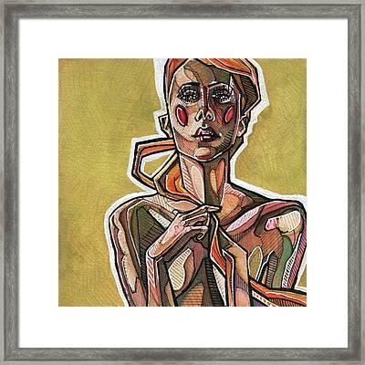 Copperhead Framed Print by Rob Tokarz