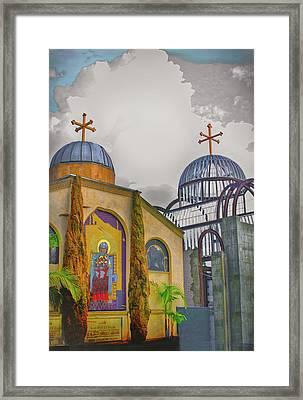 Coptic Church Rebirth Framed Print