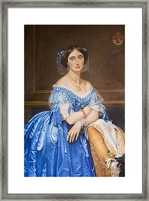 Copy After Ingres Framed Print