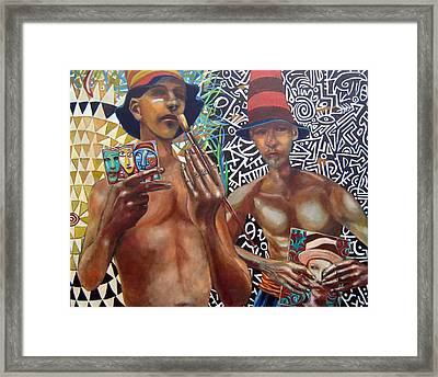 Copy Cats Framed Print by Jonathan Franklin