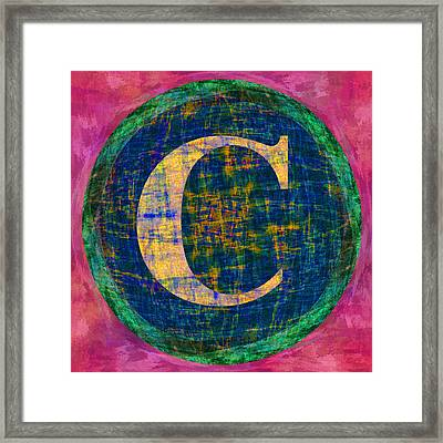 Copyright Character Framed Print