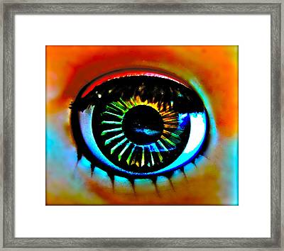 Coquettish Framed Print by Gwyn Newcombe