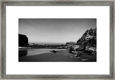 Coquille Point II Framed Print