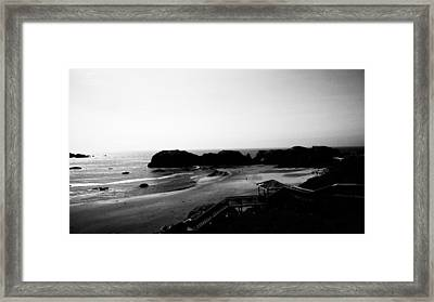 Coquille Point IIi Framed Print