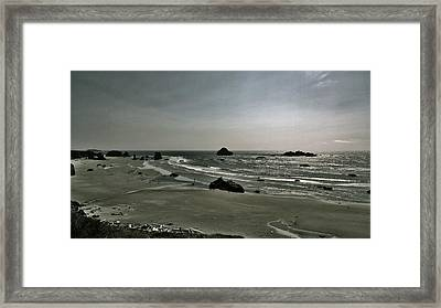 Coquille Point Iv Framed Print