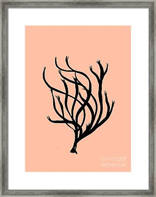Coral Art- 2 Framed Print