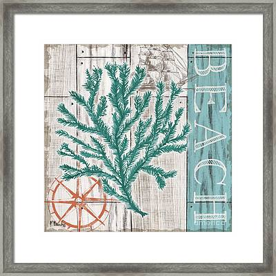 Coral Azul II Framed Print by Paul Brent
