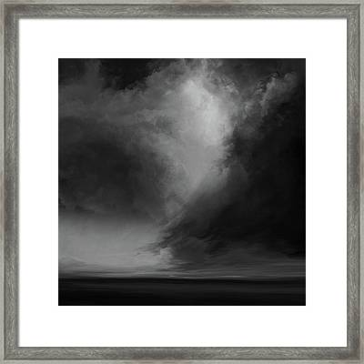 Coral Bw Framed Print by Lonnie Christopher