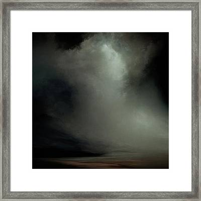 Coral - Dark Framed Print