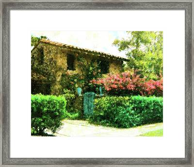 Coral Gables Classic Framed Print