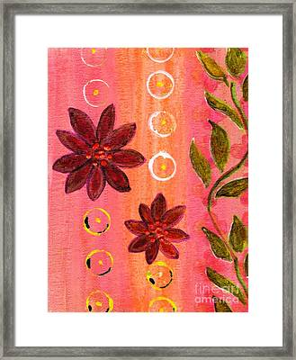 Coral Garden Framed Print by Desiree Paquette