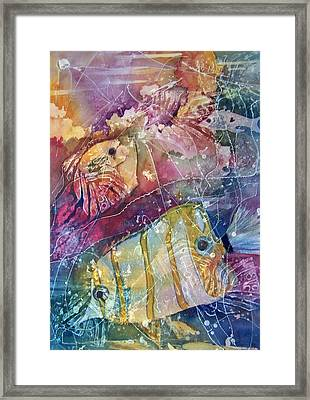 Coral Reef I Framed Print by Sandy Collier