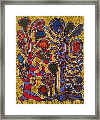 Corals I Framed Print by Sandra Perez-Ramos