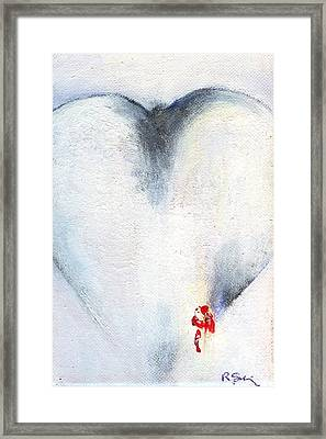 Corazones De Un Bobo One Framed Print by Ricky Sencion