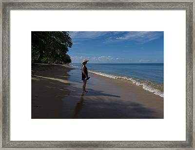 Corcega Beach Framed Print by Wayne Schmitt
