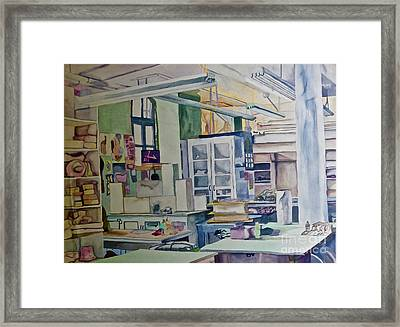 Corcoran School Of Art Ceramic Studio Back In The Days Framed Print