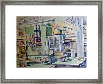 Corcoran School Of Art Ceramic Studio Back In The Days Framed Print