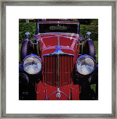 Cord Coupe Framed Print