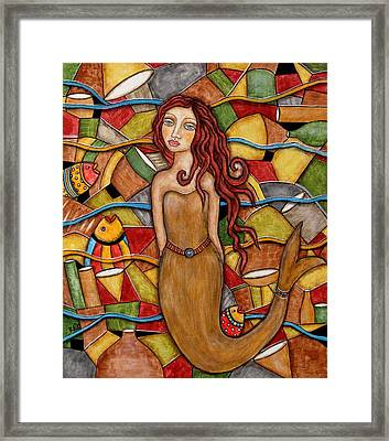 Cordelia Framed Print by Rain Ririn