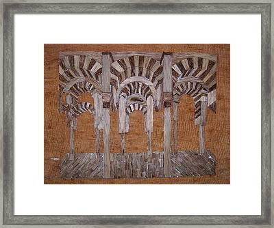 Cordoba Mezquita Framed Print by Joedhi