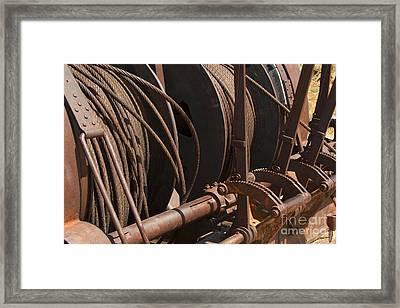 Cords That Bind Framed Print by Jennifer Apffel