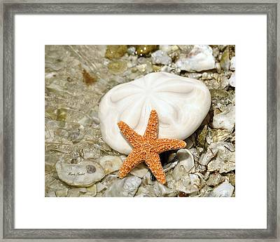 Core Of The Reef Framed Print