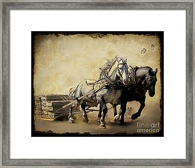 Core-two-duo Framed Print