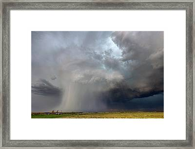 Cored Framed Print