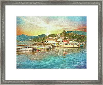 Corfu 30 My Passion Paintography Framed Print