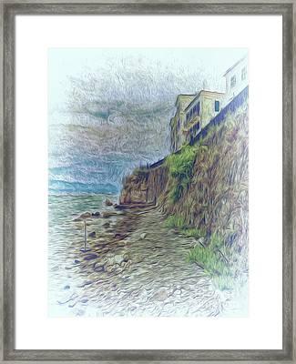 Corfu 33 - Corfu Rocks Framed Print