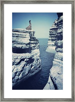 Corfu Framed Print by Cambion Art