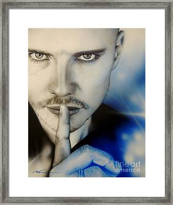 Corgan Framed Print
