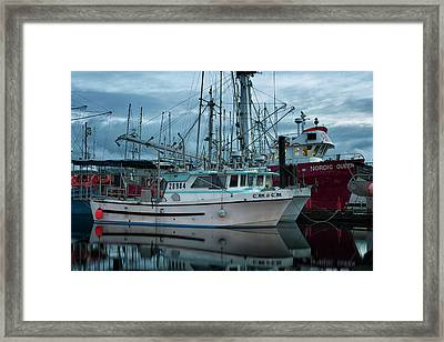 Framed Print featuring the photograph Cork To Cork by Randy Hall