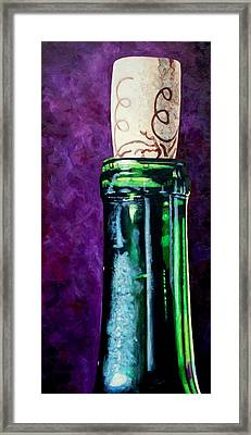 Corked Framed Print by Melanie Cossey