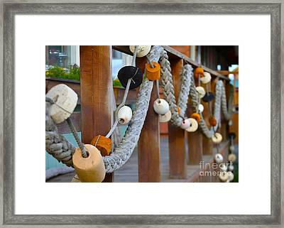 Corks Framed Print by Rick  Monyahan