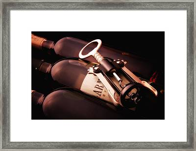 Corkscrew Framed Print by Tom Mc Nemar